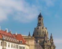 Εκκλησία στη Δρέσδη Frauenkirche στοκ εικόνα