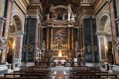 Εκκλησία στη Ρώμη, Ιταλία στοκ εικόνα με δικαίωμα ελεύθερης χρήσης