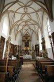 εκκλησία στο εσωτερικό Στοκ Εικόνα
