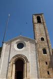 Εκκλησία στο ιστορικό κέντρο Gubbio Στοκ φωτογραφίες με δικαίωμα ελεύθερης χρήσης
