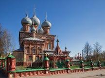 Εκκλησία στο κατώτατο σημείο Debre, Kostroma, Ρωσία Στοκ Εικόνα