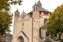 Εκκλησία στο κρησφύγετο bosch στις Κάτω Χώρες Στοκ Φωτογραφίες