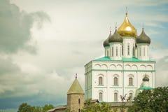εκκλησία τα ορθόδοξα ρω&si Στοκ Φωτογραφίες