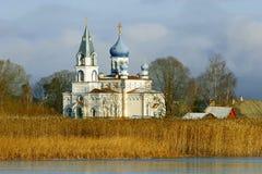 εκκλησία τα ορθόδοξα ρωσικά Στοκ εικόνες με δικαίωμα ελεύθερης χρήσης