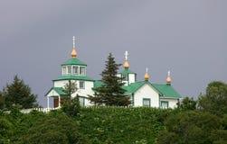 εκκλησία τα ορθόδοξα ρω&si Στοκ εικόνα με δικαίωμα ελεύθερης χρήσης