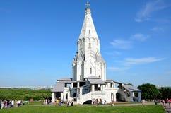 Εκκλησία της ανάβασης σε Kolomenskoye στοκ φωτογραφίες
