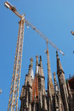 εκκλησία της Βαρκελώνης νεωτεριστική Στοκ εικόνα με δικαίωμα ελεύθερης χρήσης