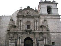 Εκκλησία της επιχείρησης σε Arequipa, Περού Στοκ Εικόνες