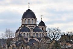 Εκκλησία της κυρίας μας του σημαδιού, Vilnius στοκ εικόνες