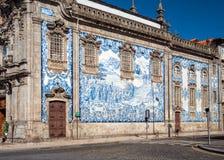 Εκκλησία της κυρίας Carmo μας, Πόρτο, Πορτογαλία στοκ φωτογραφία με δικαίωμα ελεύθερης χρήσης
