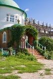 Εκκλησία της μεσολάβησης της άγιας παρθένας στην περιοχή Vologda μοναστηριών Voskresensky Goritsky, της Ρωσίας Στοκ Φωτογραφία