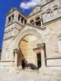 Εκκλησία της μεταμόρφωσης στο υποστήριγμα Tabor στο Ισραήλ Στοκ φωτογραφία με δικαίωμα ελεύθερης χρήσης