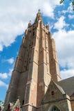Εκκλησία της Μπρυζ Notre-Dame στοκ εικόνες
