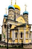 Εκκλησία της προστασίας της άγιας παρθένας στοκ φωτογραφία