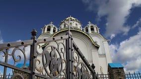 Εκκλησία της προστασίας της μητέρας του Θεού σε Yasenevo, Μόσχα, Ρωσία φιλμ μικρού μήκους