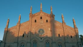 Εκκλησία της Σάντα Μαρία Del Carmine στην Παβία, PV, Ιταλία φιλμ μικρού μήκους