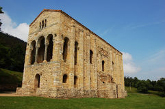 Εκκλησία της Σάντα Μαρία del Naranco σε Οβηέδο (Ισπανία) Στοκ φωτογραφίες με δικαίωμα ελεύθερης χρήσης