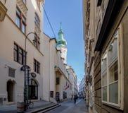 Εκκλησία της Anna στη Βιέννη, Αυστρία Στοκ Φωτογραφία