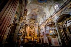 Εκκλησία της Anna στη Βιέννη, Αυστρία Στοκ Φωτογραφίες