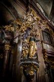 Εκκλησία της Anna στη Βιέννη, Αυστρία Στοκ Εικόνες