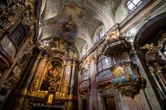 Εκκλησία της Anna στη Βιέννη, Αυστρία Στοκ φωτογραφία με δικαίωμα ελεύθερης χρήσης