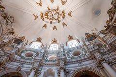 Εκκλησία της Chiara Santa, Noto, Σικελία, Ιταλία Στοκ Εικόνες