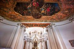 Εκκλησία της Chiara Santa, Noto, Σικελία, Ιταλία Στοκ φωτογραφία με δικαίωμα ελεύθερης χρήσης