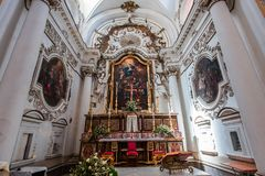 Εκκλησία της Chiara Santa, Noto, Σικελία, Ιταλία Στοκ φωτογραφίες με δικαίωμα ελεύθερης χρήσης