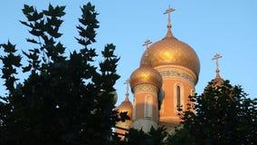 Εκκλησία του Άγιου Βασίλη στο Βουκουρέστι απόθεμα βίντεο