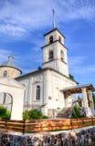 Εκκλησία του εικονιδίου Tikhvin της μητέρας του Θεού Στοκ φωτογραφίες με δικαίωμα ελεύθερης χρήσης
