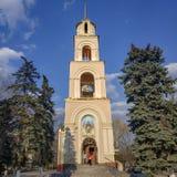 Εκκλησία του ιερού πνεύματος στον καθεδρικό ναό τετραγωνικό Sloviansk στοκ εικόνες με δικαίωμα ελεύθερης χρήσης