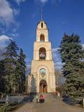 Εκκλησία του ιερού πνεύματος στον καθεδρικό ναό τετραγωνικό Sloviansk στοκ φωτογραφία με δικαίωμα ελεύθερης χρήσης