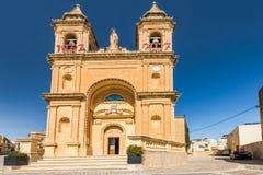 Εκκλησία του Παρισιού σε Marsaxlokk, Μάλτα Στοκ φωτογραφία με δικαίωμα ελεύθερης χρήσης