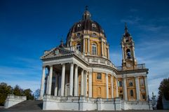 Εκκλησία του Τορίνου Superga Στοκ φωτογραφία με δικαίωμα ελεύθερης χρήσης