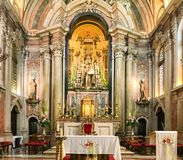 Εκκλησία του Antonio Santo, Λισσαβώνα, Πορτογαλία στοκ φωτογραφία με δικαίωμα ελεύθερης χρήσης