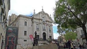 Εκκλησία του Antonio Santo στη Λισσαβώνα φιλμ μικρού μήκους