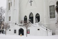Εκκλησία του Emmanuel μητέρων, Τσάρλεστον, Sc στοκ εικόνες