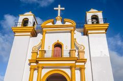 Εκκλησία του Guadalupe, SAN Cristobal de las Casas, Μεξικό Στοκ φωτογραφίες με δικαίωμα ελεύθερης χρήσης