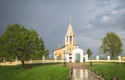 Εκκλησία του Nativity της Virgin Όμορφη Ορθόδοξη Εκκλησία στο χωριό Gorodnya, περιοχή Tver, της Ρωσίας στοκ φωτογραφία με δικαίωμα ελεύθερης χρήσης