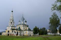 Εκκλησία του Nativity του John ο βαπτιστικός σε Uglich Ρωσία στοκ εικόνα με δικαίωμα ελεύθερης χρήσης