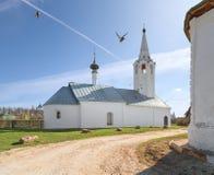 Εκκλησία του Nativity του John το βαπτιστικό Σούζνταλ, περιοχή του Βλαντιμίρ, της Ρωσίας στοκ φωτογραφίες