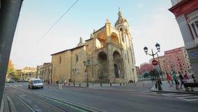 Εκκλησία του SAN Anton, καθολικός ναός που βρίσκεται στην παλαιά πόλη του Μπιλμπάο, Ισπανία φιλμ μικρού μήκους