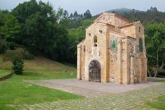 Εκκλησία του SAN Miguel de Lillo, Οβηέδο, Ισπανία Στοκ Φωτογραφίες