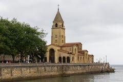 Εκκλησία του SAN Pedro Gijon Στοκ φωτογραφίες με δικαίωμα ελεύθερης χρήσης