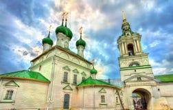 Εκκλησία του Savior στις εμπορικές συναλλαγές arcades σε Kostroma, Ρωσία Στοκ εικόνες με δικαίωμα ελεύθερης χρήσης