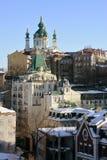 Εκκλησία του ST Andrew και κάθοδος, Κίεβο στοκ εικόνες