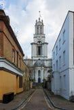 Εκκλησία του ST Annes σε Limehouse Λονδίνο Στοκ Φωτογραφία