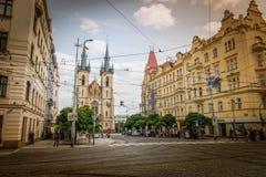 Εκκλησία του ST Anthony της Πάδοβας στην Πράγα, Δημοκρατία της Τσεχίας Στοκ εικόνες με δικαίωμα ελεύθερης χρήσης