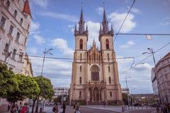Εκκλησία του ST Anthony της Πάδοβας στην Πράγα, Δημοκρατία της Τσεχίας Στοκ φωτογραφίες με δικαίωμα ελεύθερης χρήσης