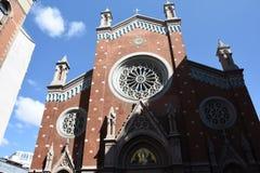 Εκκλησία του ST Anthony της Πάδοβας istiklal Στοκ φωτογραφίες με δικαίωμα ελεύθερης χρήσης